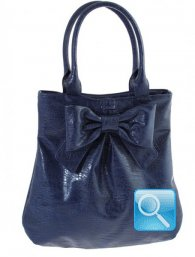 Borsa Ribbon L Blue