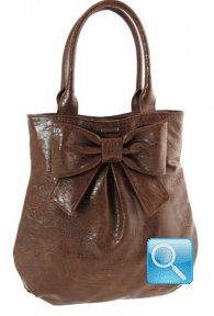 Borsa Ribbon M Brown