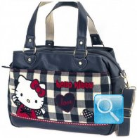 Borsa Office Bag Campus Hello Kitty Blue