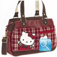Borsa Office Bag Campus Hello Kitty Red