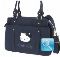 Borsa Office Bag Pop Up Hello Kitty Blue