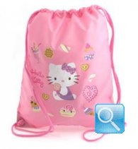 borsa hello kitty a sacchetto L pink