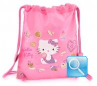 borsa hello kitty a sacchetto S pink