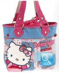 Borsa Secchiello Love Hello Kitty Azzurro