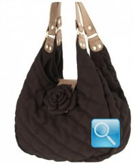 Borsa Shoulder La Martina Camomilla Milano S Brown