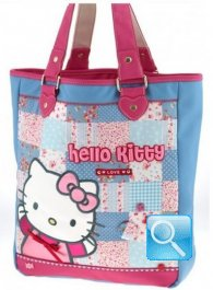 Borsa Sporta Love Hello Kitty Azzurro