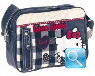 Borsa Tracolla Campus Hello Kitty Blue