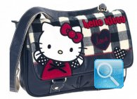 Borsa Tracolla W/FLAP Campus Hello Kitty Blue
