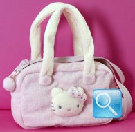 borsa hello kitty boston bag kitty marshmallow pink