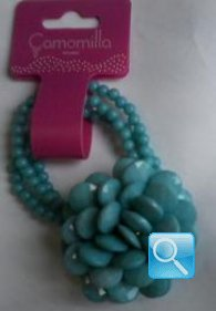 bracciale camomilla rain drop blue dream