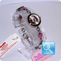 orologio bracciale hello kitty rosa
