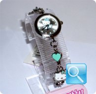 orologio hello kitty bracciale verde