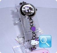 orologio hello kitty braccialetto viola