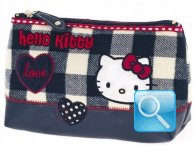 Busta-Portamonete Campus Hello Kitty Blue