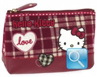 Busta-Portamonete Campus Hello Kitty Red