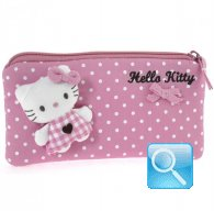 Pochette Busta Portatutto Hello Kitty L pink &brown