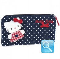 Pochette Busta Portatutto Hello Kitty L red&blue