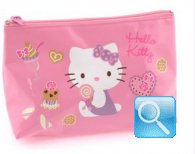 beauty hello kitty busta portatutto M pink