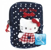 Pochette Busta Portatutto Hello Kitty S red&blue