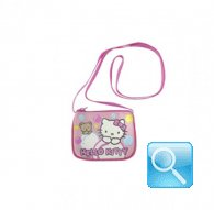 Borsa Hello Kitty con tracolla Bubbles pink