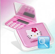 calcolatrice hello kitty con specchio