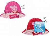 Cappellini alla Pescatora con risvolto Peppa Pig Rosa o Rosso