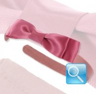 cerchietto camomilla ribbon satin d. Pink