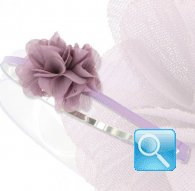 cerchietto camomilla veil flower l. purple