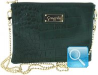 pochette cammomilla milano clutch bag -M- D. Greeen