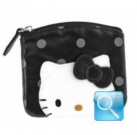 Portamonete Coin Purse city hello kitty black