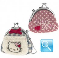 portamonete hello kitty coin purse i love you pink