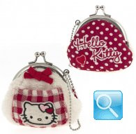 portamonete hello kitty coin purse i love you red
