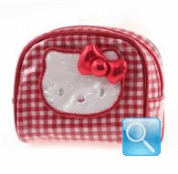 porta monete hello kitty coin red