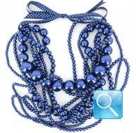 collana camomilla pearl falls blue