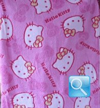 copertina hello kitty micropile rosa