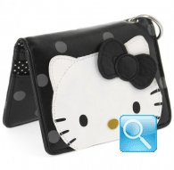 credit card case city hello kitty black