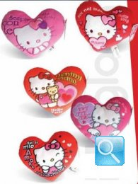 cuscino hello kitty cuore