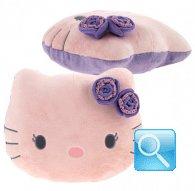 cuscino sagomato Hello Kitty M Purple dimensione: 32x38x12 cm