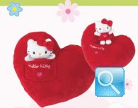 cuscino cuore hello kitty