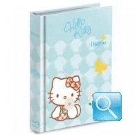 diario hello kitty azzurro