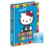 diario hello kitty azzurro imbottito