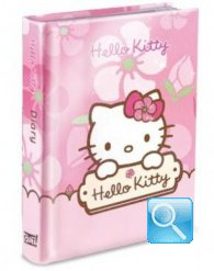 diario hello kitty rosa