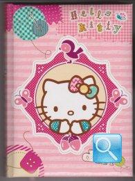diario hello kitty rosa NON DATATO nuova collezione 2013