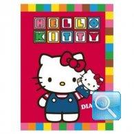 diario hello kitty rosso