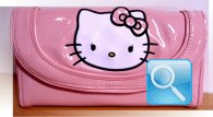portafoglio hello kitty rosa