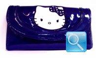 portafoglio hello kitty blu