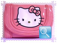 portafoglio hello kitty rosa powder