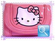 portafoglio hello kitty rosa powder