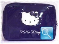 Custodia pc Hello Kitty blu