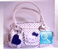 borsa hello kitty bianca